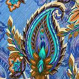 10473-14, павлопосадский платок шерстяной (разреженная шерсть) с швом зиг-заг, фото 2