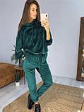 Модный велюровый костюм оверсайз 42-48рр.( 5 цветов), фото 6