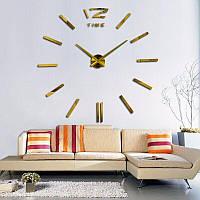 Большие Настенные 3d Часы, размер Большой - XL, et2117XL GOLD