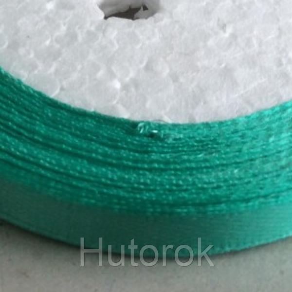 Лента атласная 0,6 см (бирюза зеленая)