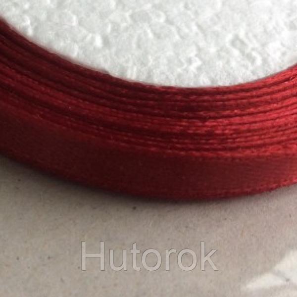 Лента атласная 0,6 см (бордо)