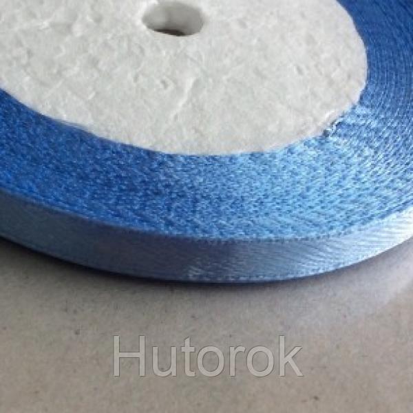 Лента атласная 0,6 см (голубой)