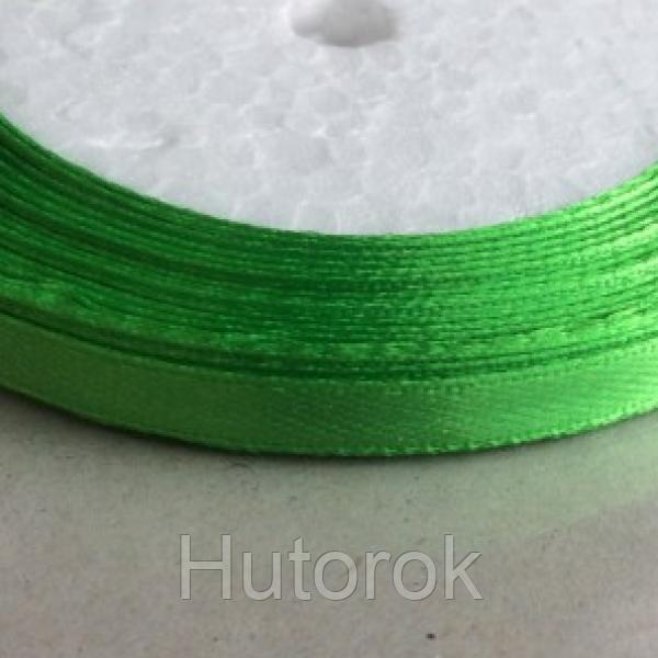 Лента атласная 0,6 см (зеленый)