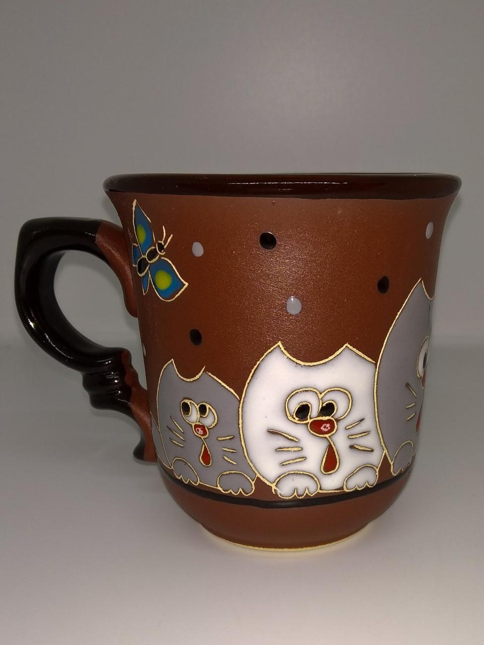 """Чашка 250 мл """"Любопытные коты"""""""