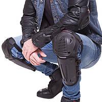 Комплект мото-захисту Наколінники і налокітники Мотозащита колін і гомілки PRO-BIKER Чорний (P-09)
