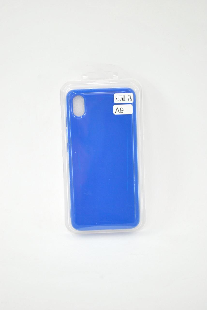 Чехол Xiaomi Redmi 8A Silicone PROFIT blue