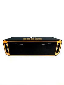 Портативная колонка BT506 4you (bluetooth, Micro SD, USB, FM) black/orange