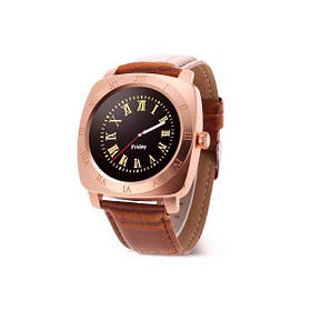 Смарт-часы Smart Watch X3 (GSM,Bluetooth3.0,Micro sd,Camera 2.0,TFT, метал, MTK6261) gold