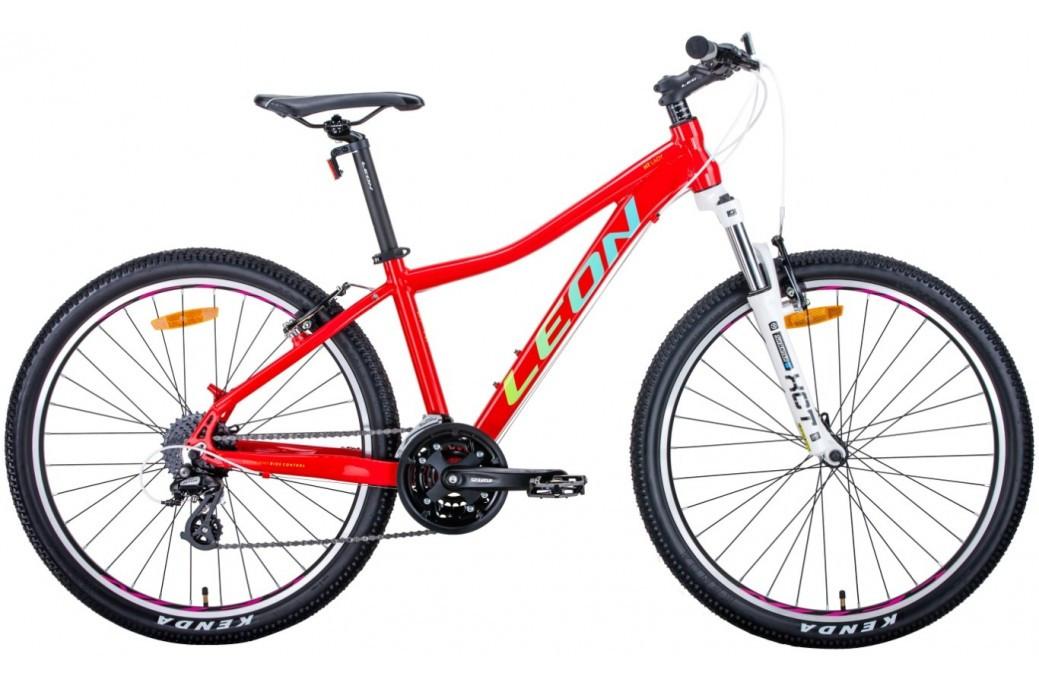 """Велосипед горный женский 26"""" Leon HT-Lady AM Vbr 2020 алюминиевая рама 15"""", 17.5"""""""