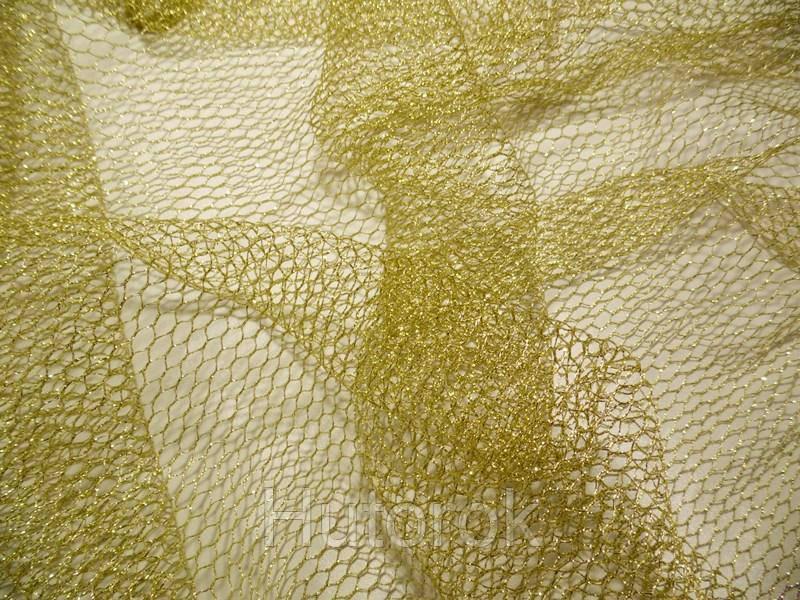Сетка люрекс (золото)