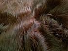 Мех длинноворсовый (коричневый), фото 3