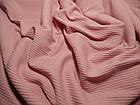 Трикотаж мустанг (розовый), фото 2