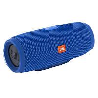 Портативная Bluetooth колонка JBL Charge 3+ Blue