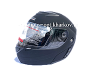 Шлем Jiekai черный матовый трансформер, Night Rider