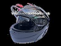 Шлем Jiekai черный глянцевый трансформер, Night Rider