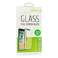 Защитное стекло Optima 5D для iPhone 6 6s Plus White