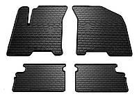 Резиновые автомобильные коврики в салон CHEVROLET Aveo (T250) 2004 шевроле авео Stingray