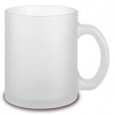 Чашка для сублимации стекло (матовая внутри) 330 мл