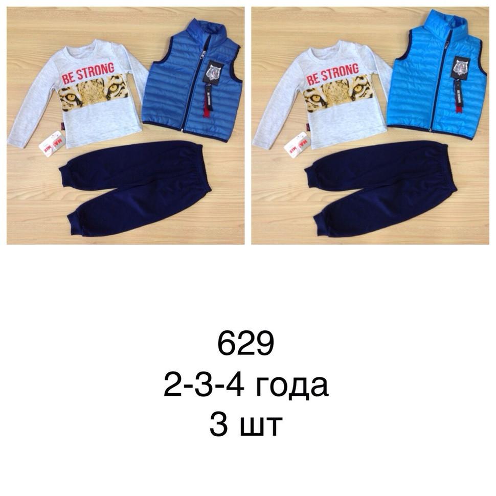 Детский костюм 2-4 c жилеткой  195629