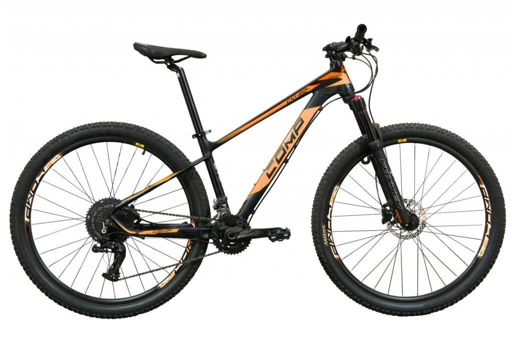 """Велосипед горный универсальный 27.5"""" Comp Harvard 2020 рама 15"""" черно-оранжевый"""