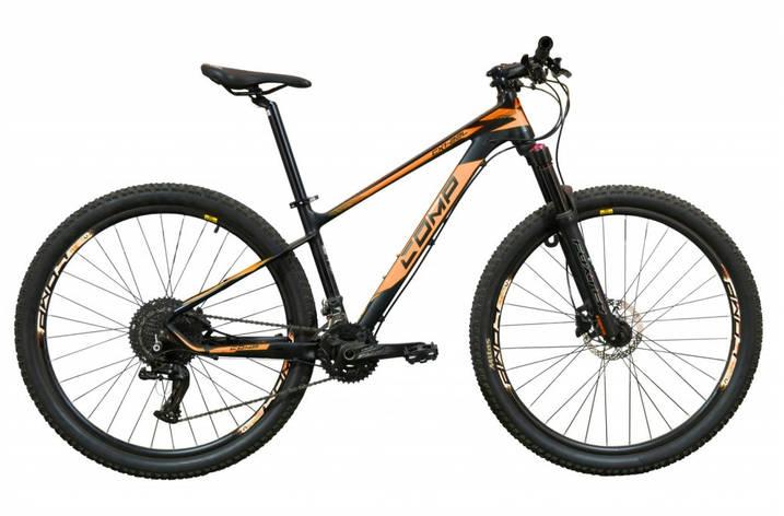 """Велосипед горный универсальный 27.5"""" Comp Harvard 2020 рама 15"""" черно-оранжевый, фото 2"""