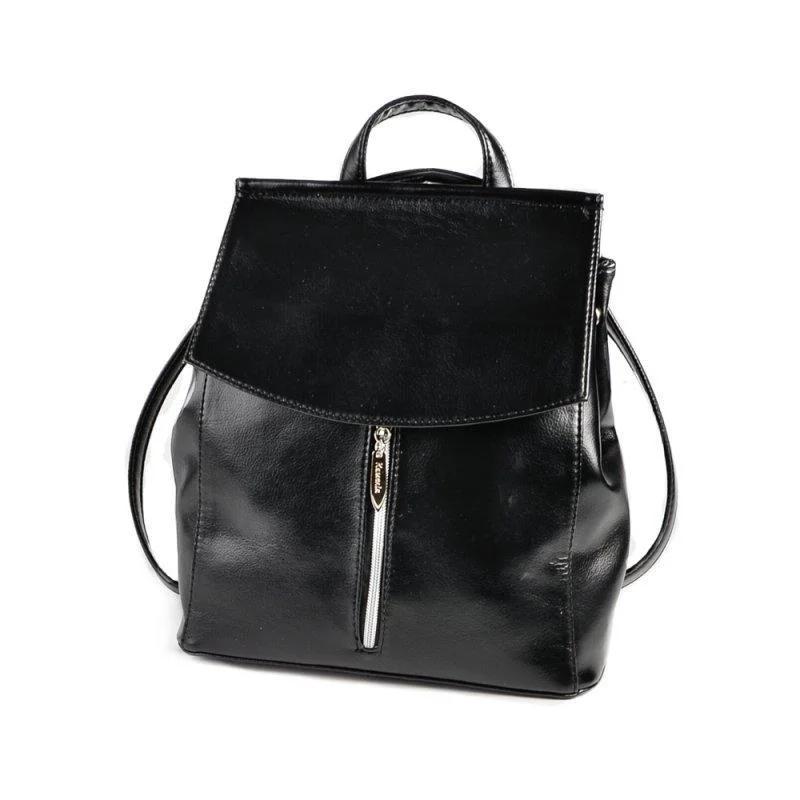Черный женский рюкзак код 25-159