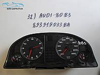 Панель приборов Ауди 80, Audi 80 №32 893919033 BA
