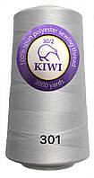 Нить армированная Белая 30/2 3000ярдов Kiwi