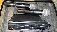Микрофон 2 шт. с базой DM SM 58/UT24