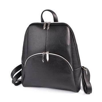 Рюкзак чорний жіночий код 25-207