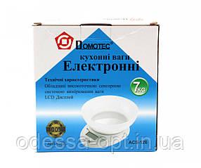 Кухонные весы Domotec ACS MS 126 до 7кг
