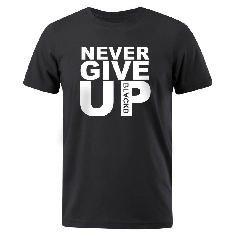 Футболка мужская Never give up