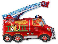 Фол шар фигура Пожарная машина (ФМ)