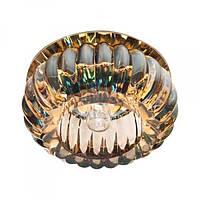 Встраиваемый светильник Feron C1010 желтый золото