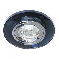 Встраиваемый светильник Feron 8050-2 серый серебро