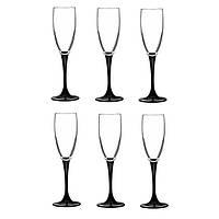 Набор бокалов для шампанского 170 мл 6 шт Domino Luminarc H8167