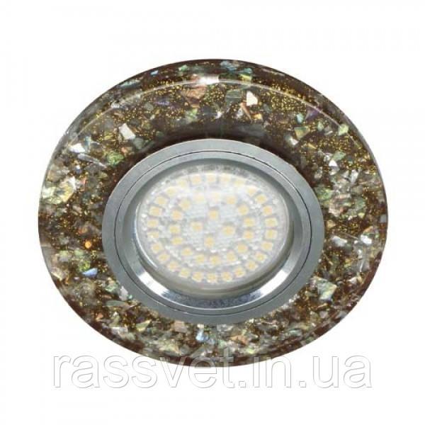 Встраиваемый светильник Feron 8585-2 с LED подсветкой