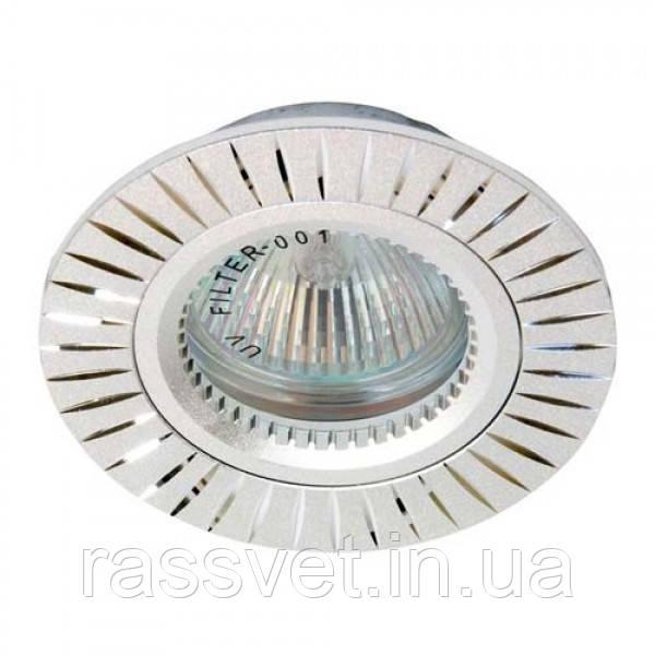 Встраиваемый светильник Feron GS-M394 серебро