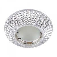 Встраиваемый светильник Feron CD003 серебро