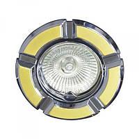 Встраиваемый светильник Feron 098Т MR-16 золото хром