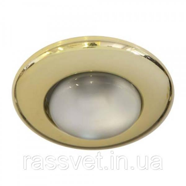 Встраиваемый светильник Feron 2767 R-50 золото