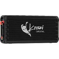 Портативная Bluetooth колонка с влагозащитой IPX7 Krazi Orca Waterproof  KZBS-002 Black
