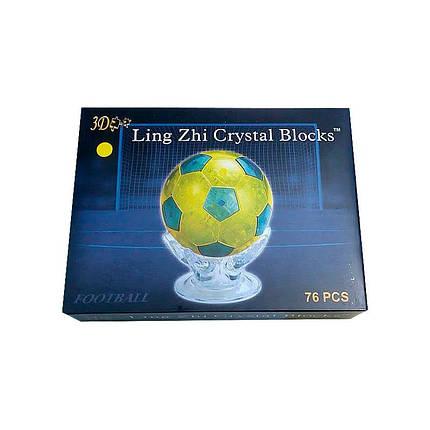 3D Crystal Puzzle «Футбольный мяч», фото 2