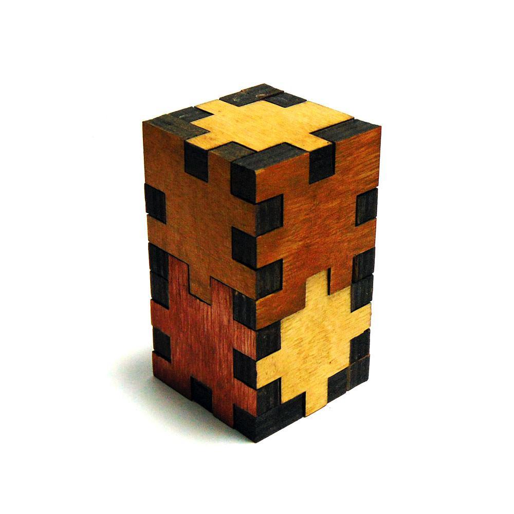 3D-головоломка деревянная Башня замка