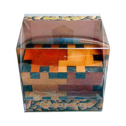 3D-головоломка деревянная Башня замка, фото 2