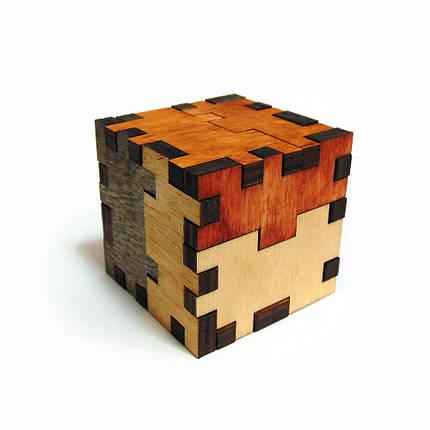 3D-головоломка деревянная Куб-мучитель, фото 2
