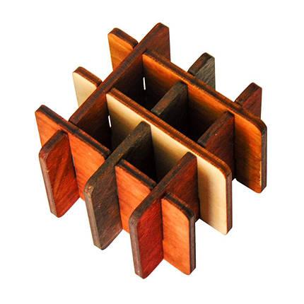 3D-головоломка деревянная Три на три, фото 2