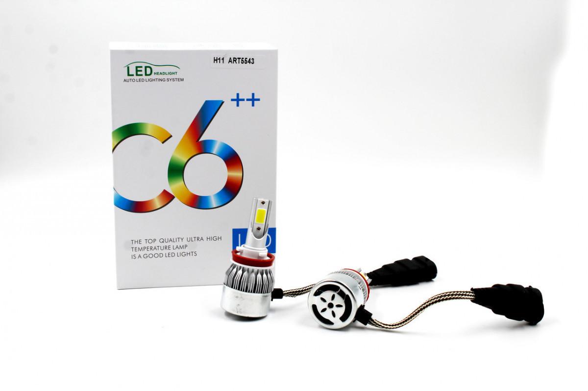 Комплект LED ламп C6 H11