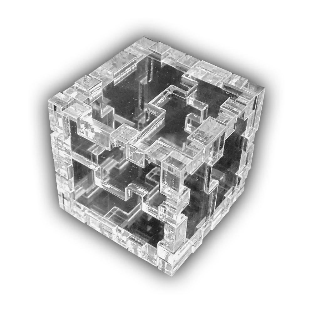 Акриловая 3D-головоломка Куб-мучитель