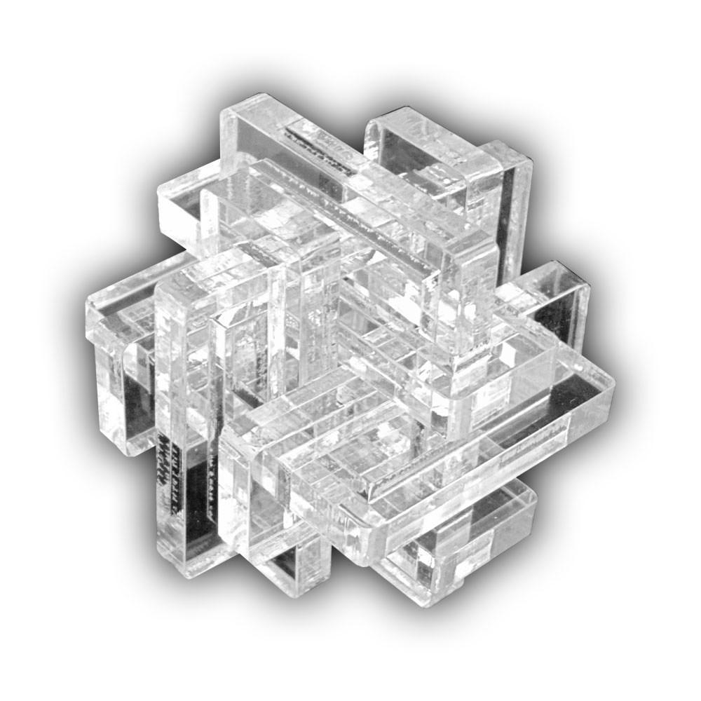 Акриловая 3D-головоломка Тиара
